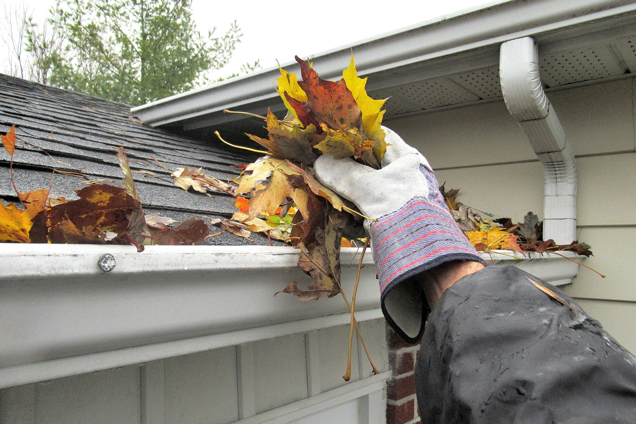 The Best Way To Clean Eavestroughs